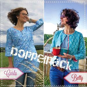 Betty + Carla Schnittmuster und Nähanleitung, Doppelpack