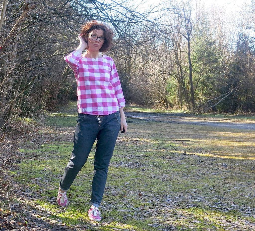 Jeans Gloria, Schnittmuster