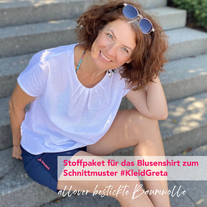 Stoffpaket Blusenshirt Greta