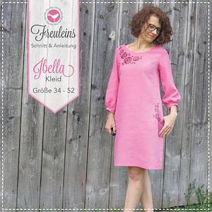 Kleid Ibella in Gr. 34-52 - Schnittmuster und Nähanleitung