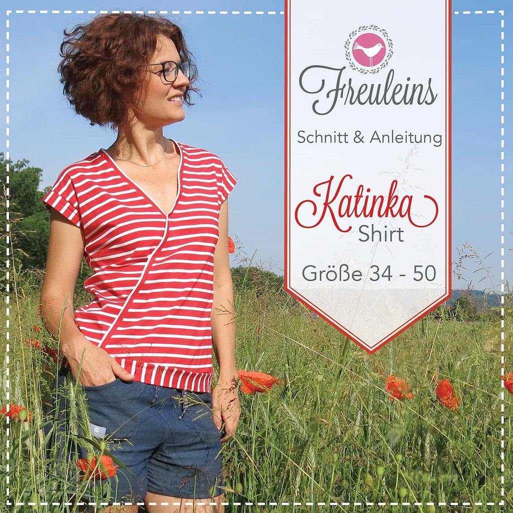 Shirt Katinka in Gr. 34-50 - Schnittmuster und Nähanleitung