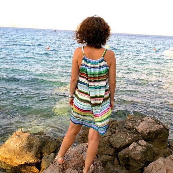 Kleid DIY Nähen ohne Schnittmuster