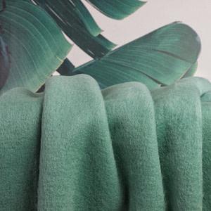 Jacken/Mantelstoff Hairy - mint